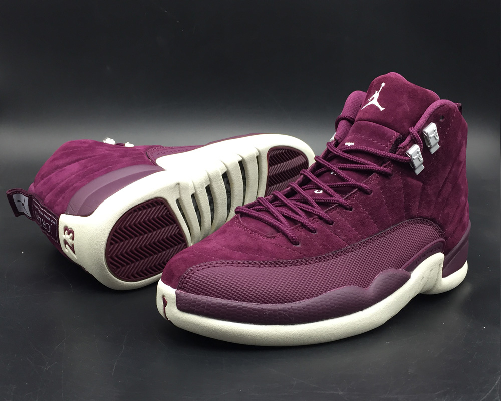 great deals 2017 innovative design the latest Air Jordan Retro 12 BORDO